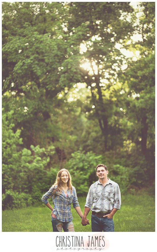 Kansas Engagement Krystal&Jesse